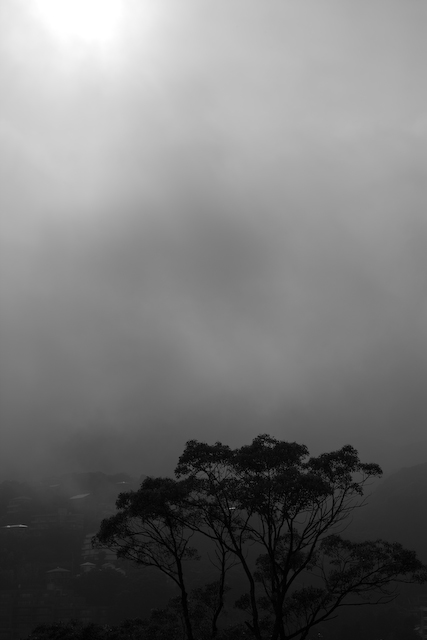 Morning of mountain