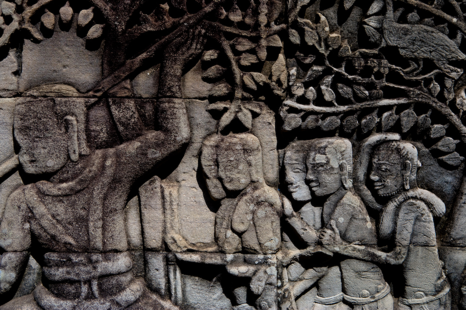 The relief of Bayon.